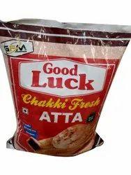 Good Luck Wheat Fresh Chakki Atta, Packaging Type: Bag