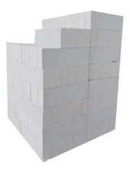 NCL Autoclaved Aerated Concrete Light Weight AAC Block, For Side Walls, Size: 10x6x4 Inches (lxhxw)