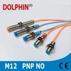 M12 Inductive Proximity Sensor PNP NO Make - DOLPHIN