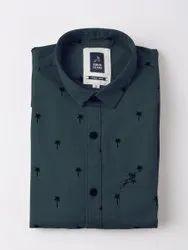 Roman Island Cotton Men Fashion Shirt, Size: Large
