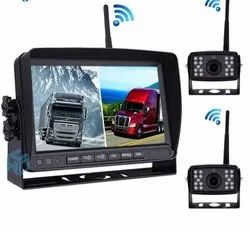 Commercial Vehicles wireless rear view camera system