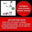 NACS Petrol Brush Cutter Four Stroke Grass Cutting Machine
