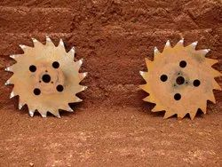 Silver Mild Steel Ms Laterite Stone Cutting Saw Blade, Size/dimension: 24