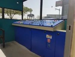 Apollo Hot Mix Plant Control Panel With Cabin, For Construction Site & Machinery