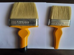 M1 Double White Hair Paint Brushes