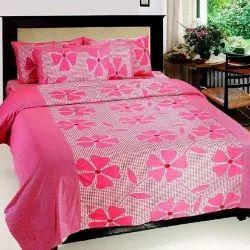 Pink Designer Incense Album Bedsheet Set