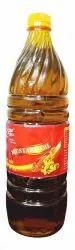 Yellow Kachchi Ghani 1 Litre Mustard Oil Bottle