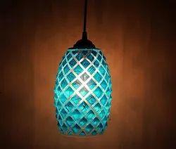 Blue Modern Hanging Lamp, For Decoration
