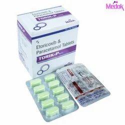 Etoricoxib and Paracetamol Tablets