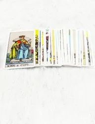 Rider Tarot Card With Red Velvet Box. Set of 78 Cards.