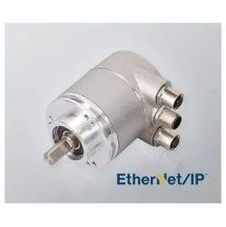 Serie CM10 EtherNet Multiturn Absolute Solid Shaft Encoder