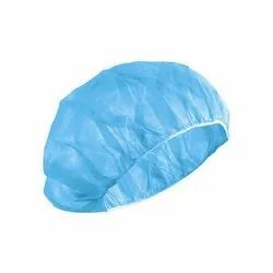Blue Non Woven Bouffant Cap & Shoe Cover, Quantity Per Pack: 2500