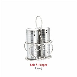 Stainless Steel Lining Salt Pepper Set