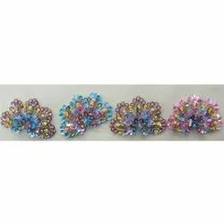 Embroidered Beaded Flower Lace