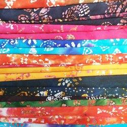 Cotton Printed Nighty Fabric, Batik Prints, Multicolour