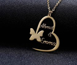 Custom Name Pendant Necklace