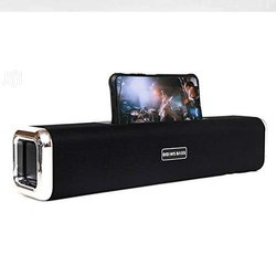 Black Sound Bar Speaker for TV with Bluetooth