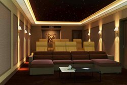 Home Theater Acoustic Work