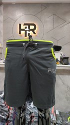Mens Half Pant 2 Way Fabric Full Lycra Size:M/L/Xl