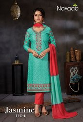 Ladies Party Wear Churidar Suit