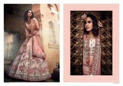 Off White Pure Organza Lehenga Choli With Thread And Sequins Work (pre-order)