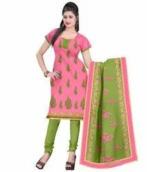 euphoria creation Cotton Deeptex Ladies Suits, For Casual Wear