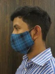 Menswear Checks Mask (Pack Of Two)