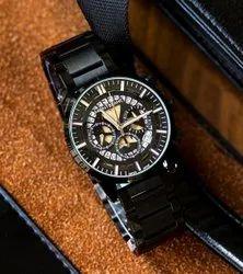 Latest Black Montblanc Men Wrist Watches