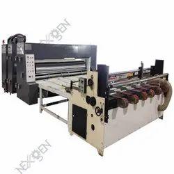 Auto Feed Single Colour Flexo Printer & Slotter Machine