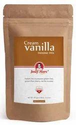 Instant Cream Vanilla Mousse Mix, 400g - Mousse Mix & Gelatin Free Mousse Powder