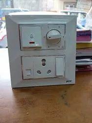 SME Plastic Electric Switch Board, 2, 1