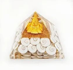 Various Orgone Pyramids for Healing and Home Decoration