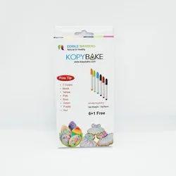 Kopybake Edible Markers (Set of 7 colors)