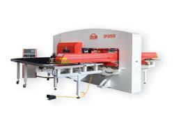 SP3050D CNC Servo Turret Punch Press