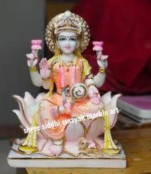 Marble Lakshmi ji Murti