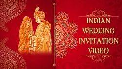 MP4 Formt E Video Whatsapp Wedding Invitation Card