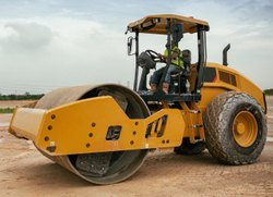 Soil Compactor Road Roller Rental Service