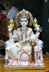 Maa Laxmi Marble Statue