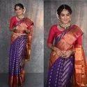 Multicolor Beautiful Soft Silk Weaving Saree, Saree Length: 6.3 M (with Blouse Piece)
