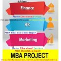 Project Report For MBA On Marketing