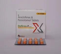 Aceclofenac 100mg And Paracetamol 325mg