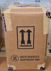 4GV X4 UN Approved Fiberboard Box