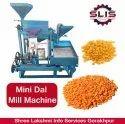 Mini Dal Mill Machine