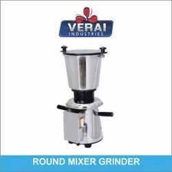 Verai Industries Stainless Steel SS Round Mixer Grinder, For Wet & Dry Grinding, Capacity(Litre): 2 L