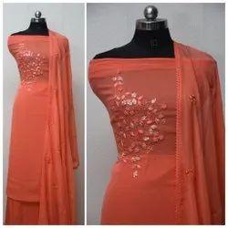 Fancy Handwork Georgette Salwar Suit