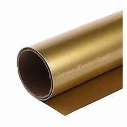 Gold Metallic PET Heat Transfer Roll
