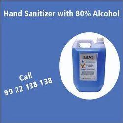 Alcohol Based Hand Sanitizer (LAVI BRAND)