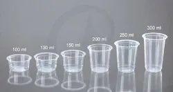 Transparent Plastic Glasses