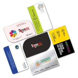 White Paper VIP Visiting Cards, Size: 3.5