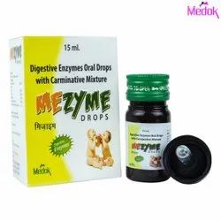 Digestive Enzymes Oral Drops With Carminative Mixture